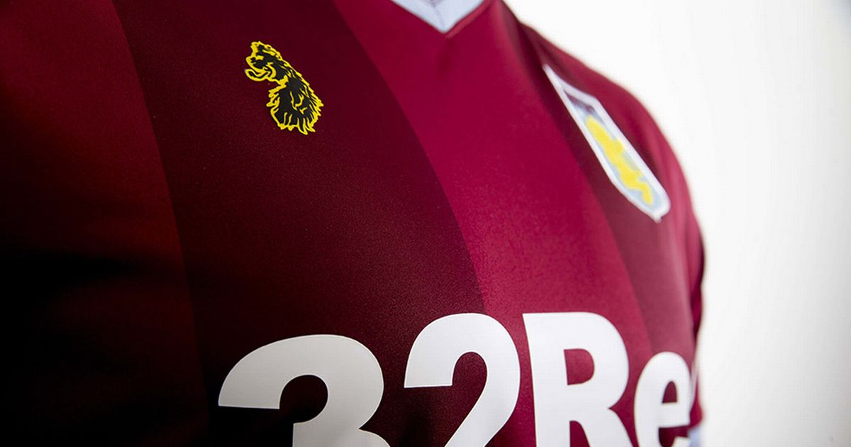 New Aston Villa kit from Luke