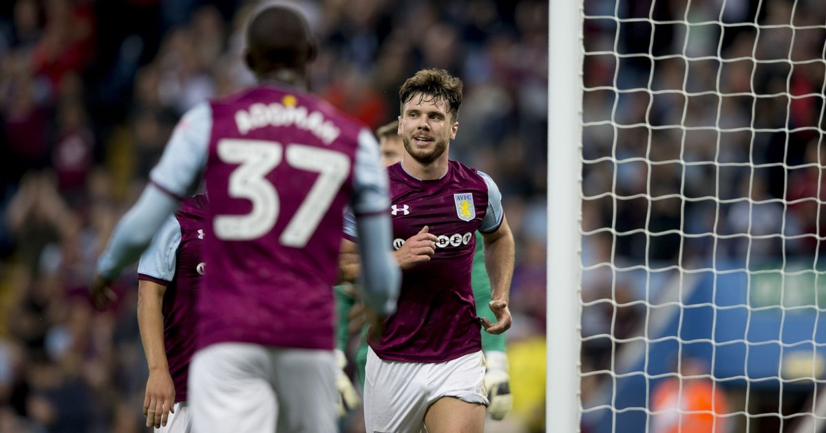 Scott Hogan scores for Aston Villa against Wigan