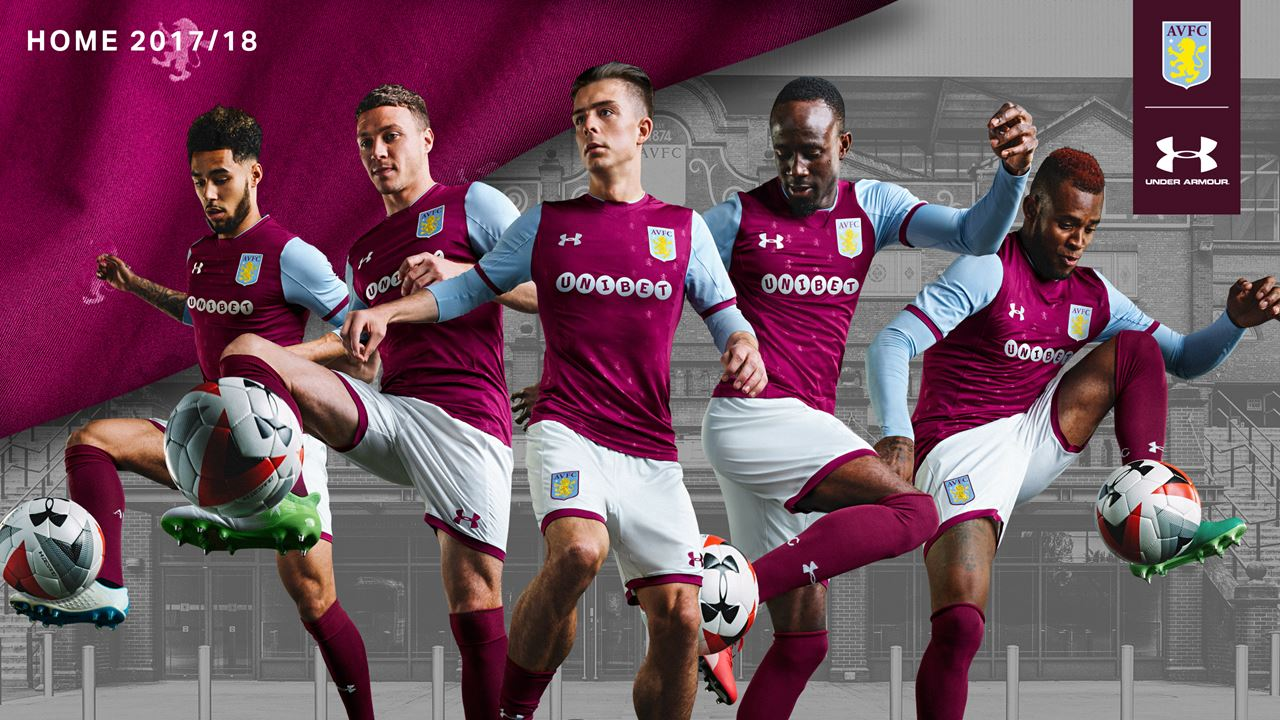 New Aston Villa kit