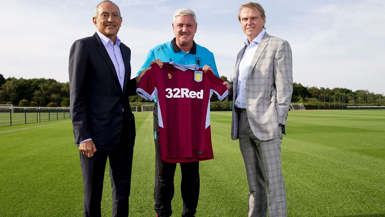 Sensible heads prevail and Aston Villa stick with Steve Bruce